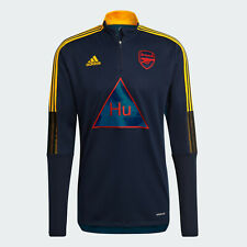 Adidas Mens Pharrell Williams with Arsenal Human Race Top indigo