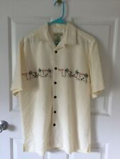 TRADER BAY: SHORT SLEEVE BUTTON DOWN SHIRT: MEN'S MEDIUM