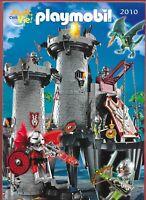 Playmobil - Catalogue 2010 - Avec encart catalogue articles complémentaires 34 p