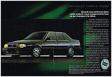 Publicité Advertising 1989 (2 pages) Lancia Théma