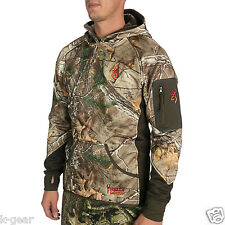 BROWNING Hell's Canyon Fleece Hooded Hunting Jacket Mens L/XL Realtree NEW