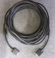 VGA 15 pin maschio a 15 PIN VGA NERO MASCHIO ESTENSIONE Cavo Del Monitor 14.5M