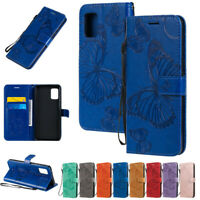 Butterfly Wallet Leather Flip Case Cover For Samsung A51 A71 A41 A31 A21 A10 A50