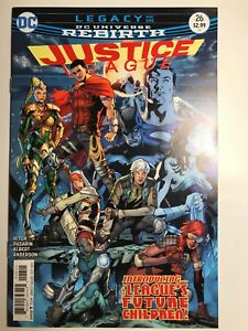 Justice League #26 Rebirth / 1st Appearance of Super Kids DC 2017 / Unpressed NM