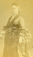 France Paris Elisabeth de Mac Mahon Croix de Castries Old CDV Photo Teruel 1880