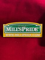 Mills Pride Cabinets Logo Advertising Tie Lapel Soft Enamel Pin 2.25""