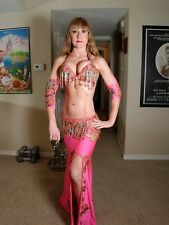 Professional Hot Pink Belly Dance Costume