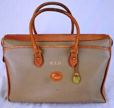 Vintage Mongrammed Dooney & Bourke Handbag (Hand Bag, Purse, Satchel)