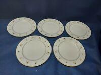 "Vintage Mikasa Fine China ""Distinction"" Set/5 Salad Plates Jyoto Japan"