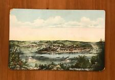View of Pittsburgh PA in 1849, Vintage Postcard
