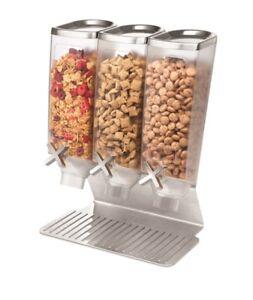 Rosseto Triple Stainless Steel EZPRO Dry Food Dispenser