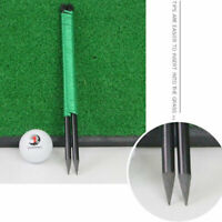 Golf Swing Putting String Direction Pegs Golf Direction Practice Training AidsBH