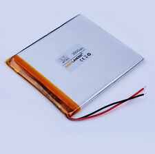 3.7V 3500mAH Li-ion 457992 battery for 7 8 9'' Tablet pc power bank ebook toys