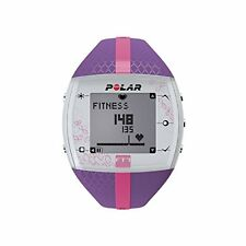 Polar FT7 Heart Rate Monitor, Lilac/Pink
