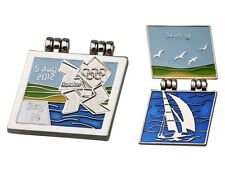"OFFICIAL LICENSED LONDON 2012 OLYMPIC GAMES PIN / BADGE ""SAILING"" DAY #14"