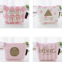 Novelty pattern girl's toiletry wash storage pouch cosmetic bag makeup case WQHN