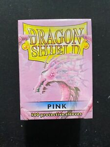 Dragon Shield Pink 100 ct. Protective Sleeves New Sealed