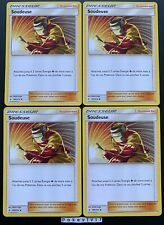 Lot 4 Cartes Pokemon SOUDEUSE 189/214 Soleil et Lune 10 SL10 FR NEUF