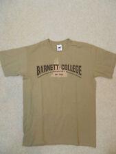RARE Indiana Jones Raiders T-Shirt-Cachi Small-Barnett college stampa