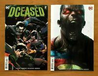 Dceased 2 Leinil Francis Yu Main Cover +  Francesco Mattina Variant Cover DC NM