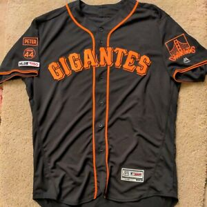 Tony Watson 2019 SAN FRANCISCO GIANTS game jersey GIGANTES patches size 50 LOOK