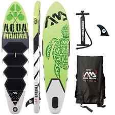"Aqua Marina Thrive -  9'9"" Inflatable Stand Up Paddle Board (SUP) w/ Paddle"