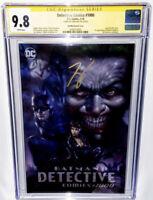 Batman Detective Comics # 1000 Parillo Virgin Variant CGC 9.8 Signed By Tom King