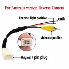 Adaptor Harness For Toyota Hilux Hiace OEM Reverse camera to GPS Stereo 2006-13