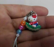 Hello Kitty Cosplay Okinawa Vegetable Rider CellPhone Charm