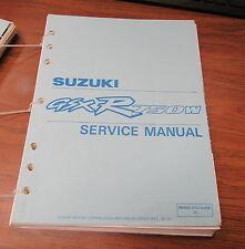 1992 Suzuki GSXR750W Service Repair Manual 99500-37073-03E