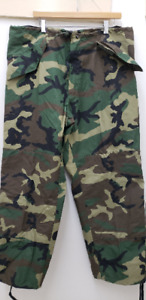 Military Issued Woodland Gore Tex Pants