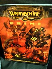 Warmachine Prime sourcebook 2002 trade paperback rulebook