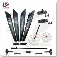 Blades/Flybar/Buckle/Grip/Gear/Shaft - QS8006 QS 8006 -2 RC Helicopter All Parts