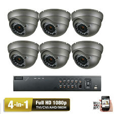 8CH H.264 HDTVI DVR 1080P Sony CMOS 4-in-1 AHD 2.6MP OSD 960H Security Camera