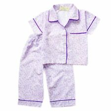 Woven B/D Floral Print #1070 Pajama Set Toddlers / Kids Sleepwear, XL (6-8 y/o)