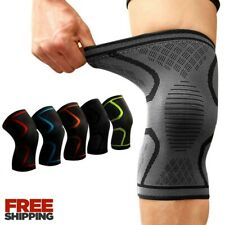 Knee Sleeves Support Crossfit Power Weight Lifting Squats Brace Compression Gym