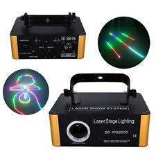 ILDA 40W RGB Animation Scan Laserlicht Disco DMX DJ Party Show Bühnenbeleuchtung