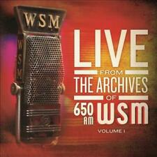 VARIOUS ARTISTS - LIVE FROM THE ARCHIVES OF 650AM WSM, VOL. 1 [DIGIPAK] NEW CD
