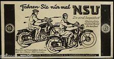 NSU moto, veicolo opere Neckar Sulm, ORIG. visualizzazione 1926