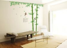 "VINILO PEGATINA DECORACION PARED ""BAMBU"" DOBLE FACIL DE COLOCAR -SIN TRANSFER-"