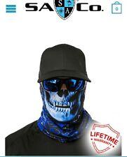 Salt Armour Hydro Skull StealthTech Camo Face Shield Sun Mask Neck Balaclava