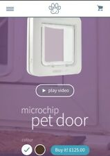SureFlap Microchip Pet Door - White