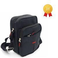 Messenger Bag Canvas Cross Body Shoulder Utility Travel Work Multi Pocket Bag