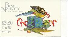 1990 Christmas Bush Nativity  10x38c Stamp Booklet:Muh