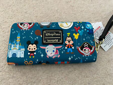 Loungefly Disney Parks Icons Wristlet Wallet