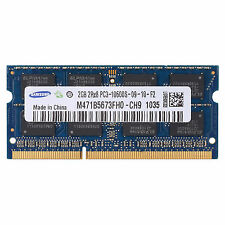 Samsung 2GB DDR3-1333MHz PC Laptop Notebook Memory PC3-10600 SO-DIMM RAM 204-pin