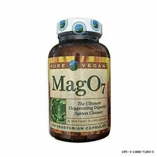 Pure Vegan Mag O7 07 Oxygen Digestive System Cleanse 120 VCap *Authorized Seller