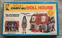 MARX  DISNEY  CARRY-ALL  DOLL HOUSE  SEALED  USA   C. 1970  VINTAGE