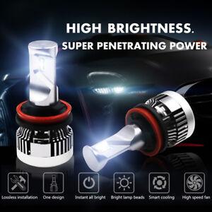 H11 CSP LED Headlight 2018 6000K White 2450W 367500LM Low Beam Bulbs High Power
