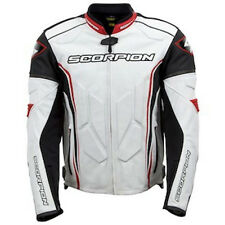 ONE BRAND NEW SCORPION CLUTCH LEATHER MEN'S SIZE LARGE MOTORCYCLE JACKET